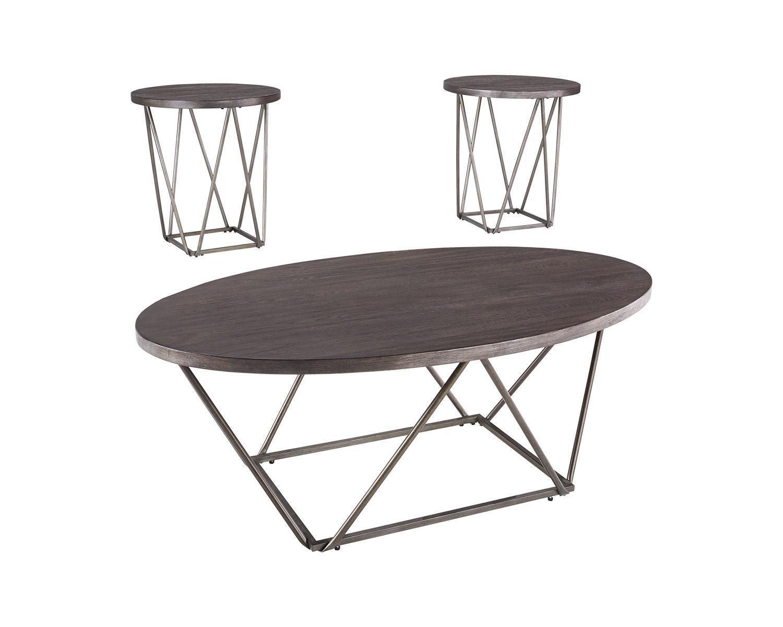Walmart Living Room Table Sets  Signature Design by Ashley Neimhurst Living Room Table Set