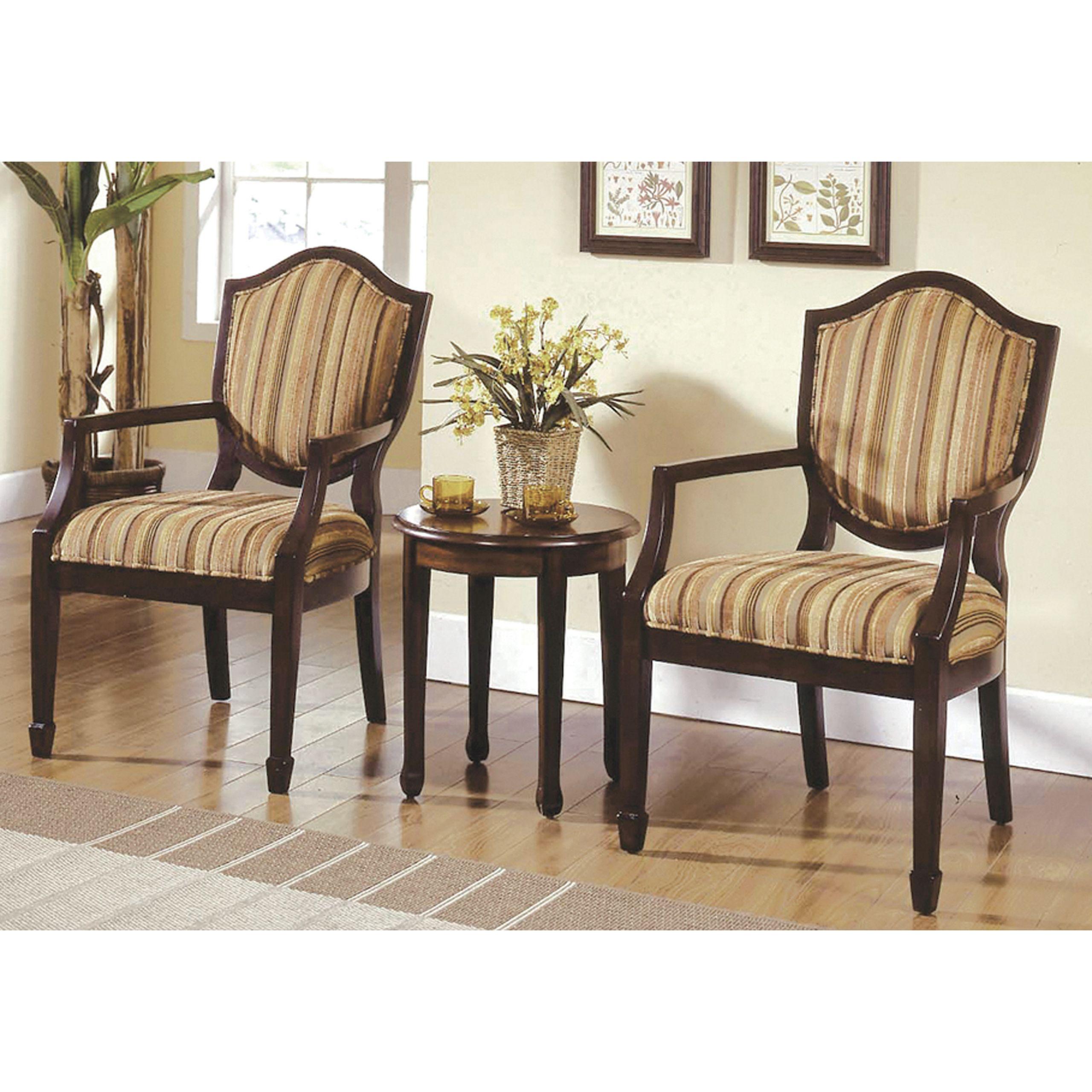 Walmart Living Room Table Sets  Best Master Furniture s Brandi 3 Piece Traditional Living