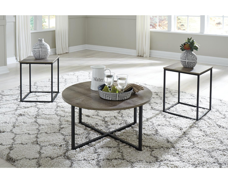 Walmart Living Room Table Sets  Signature Design by Ashley Wadeworth Living Room Table Set