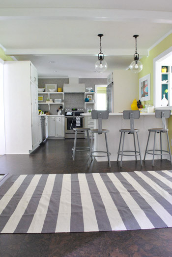 White Kitchen Rugs  And Now For A Kitchen Rug Fashion Show