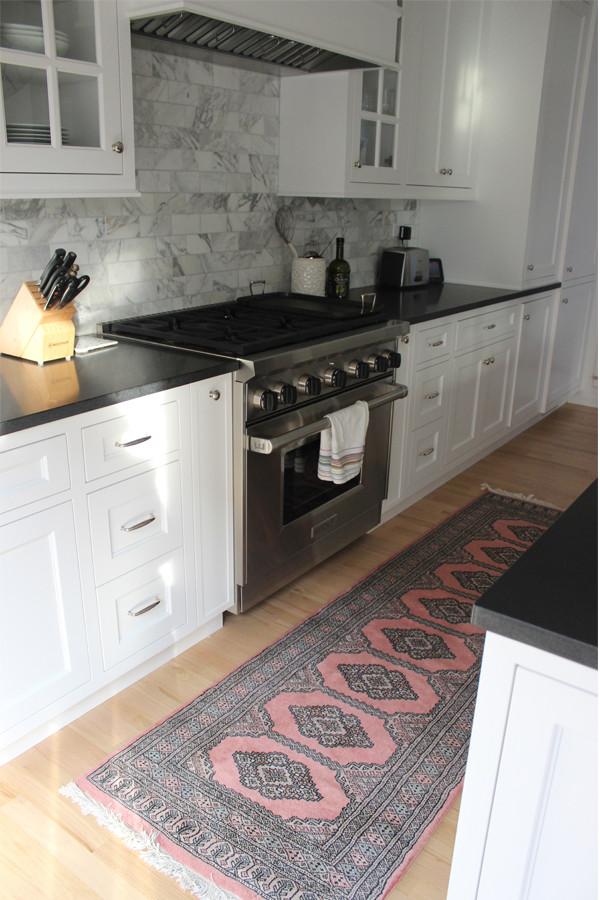 White Kitchen Rugs  Our Kitchen Runner