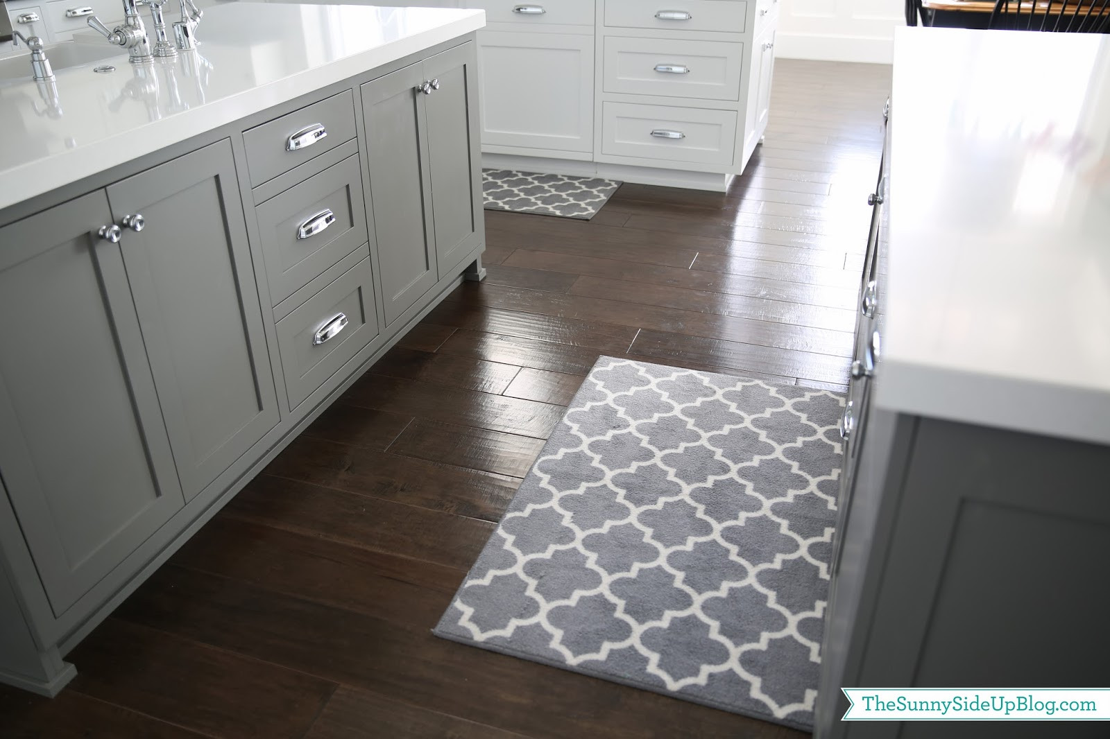 White Kitchen Rugs  Priorities and new kitchen rugs The Sunny Side Up Blog