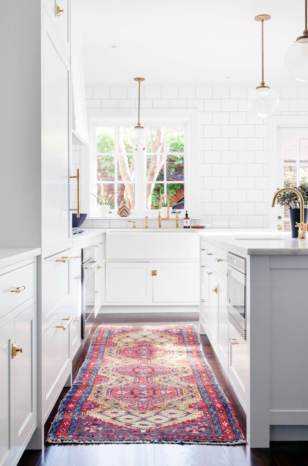 White Kitchen Rugs  A Centuries Old Home s Some Serious Love
