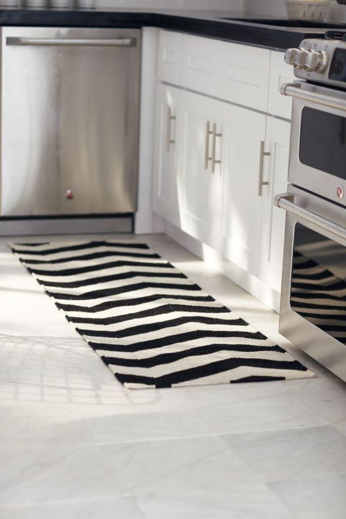 White Kitchen Rugs  10 Modern Kitchen Area Rugs Ideas Rilane