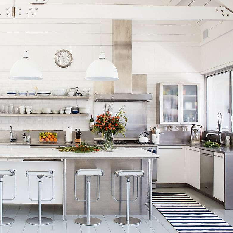 White Kitchen Rugs  How To Choose The Perfect Kitchen Rug