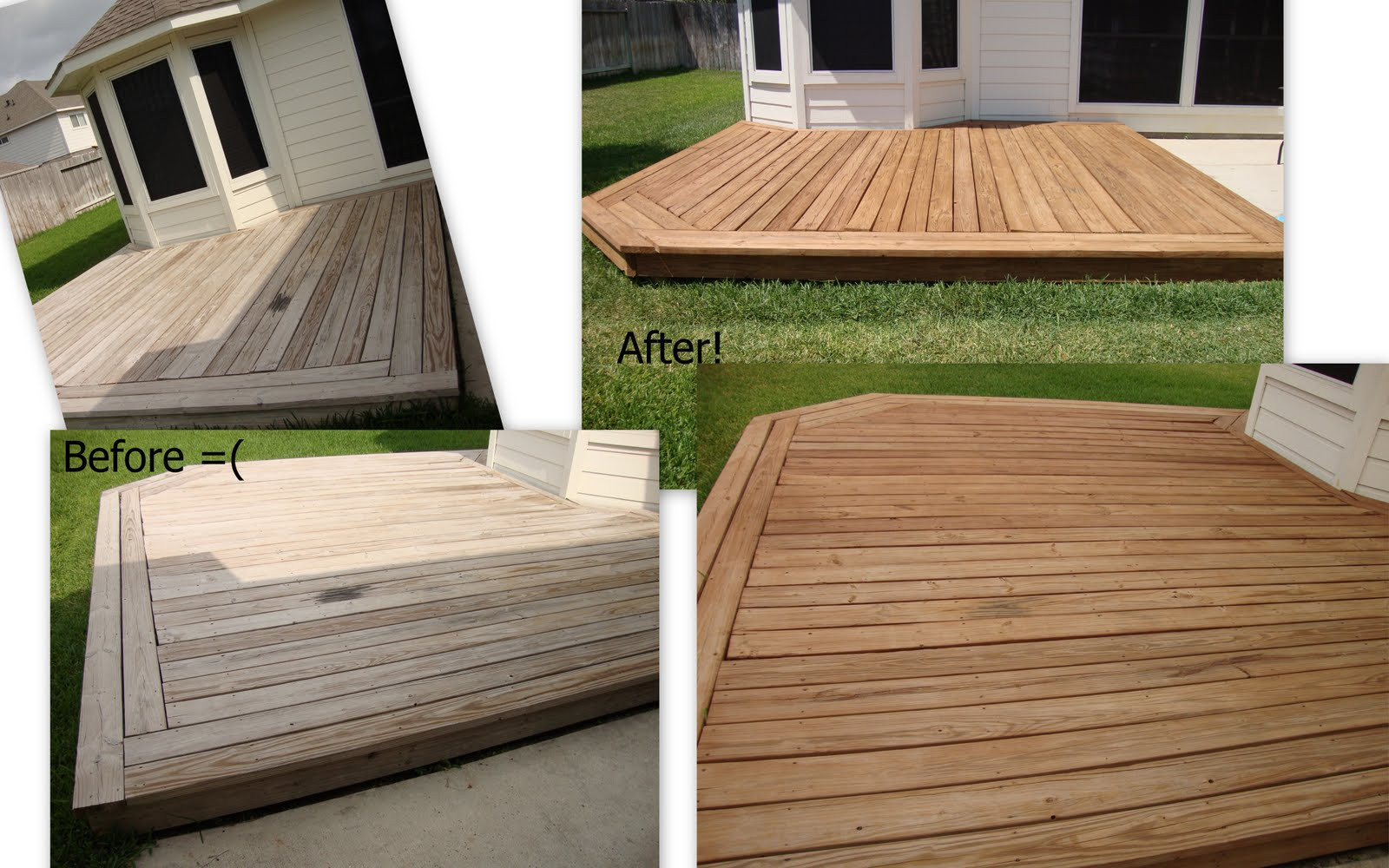 Wood Deck Paint Reviews  Lady Kay s Kitchen Eco Friendly Non Toxic Deck Stain