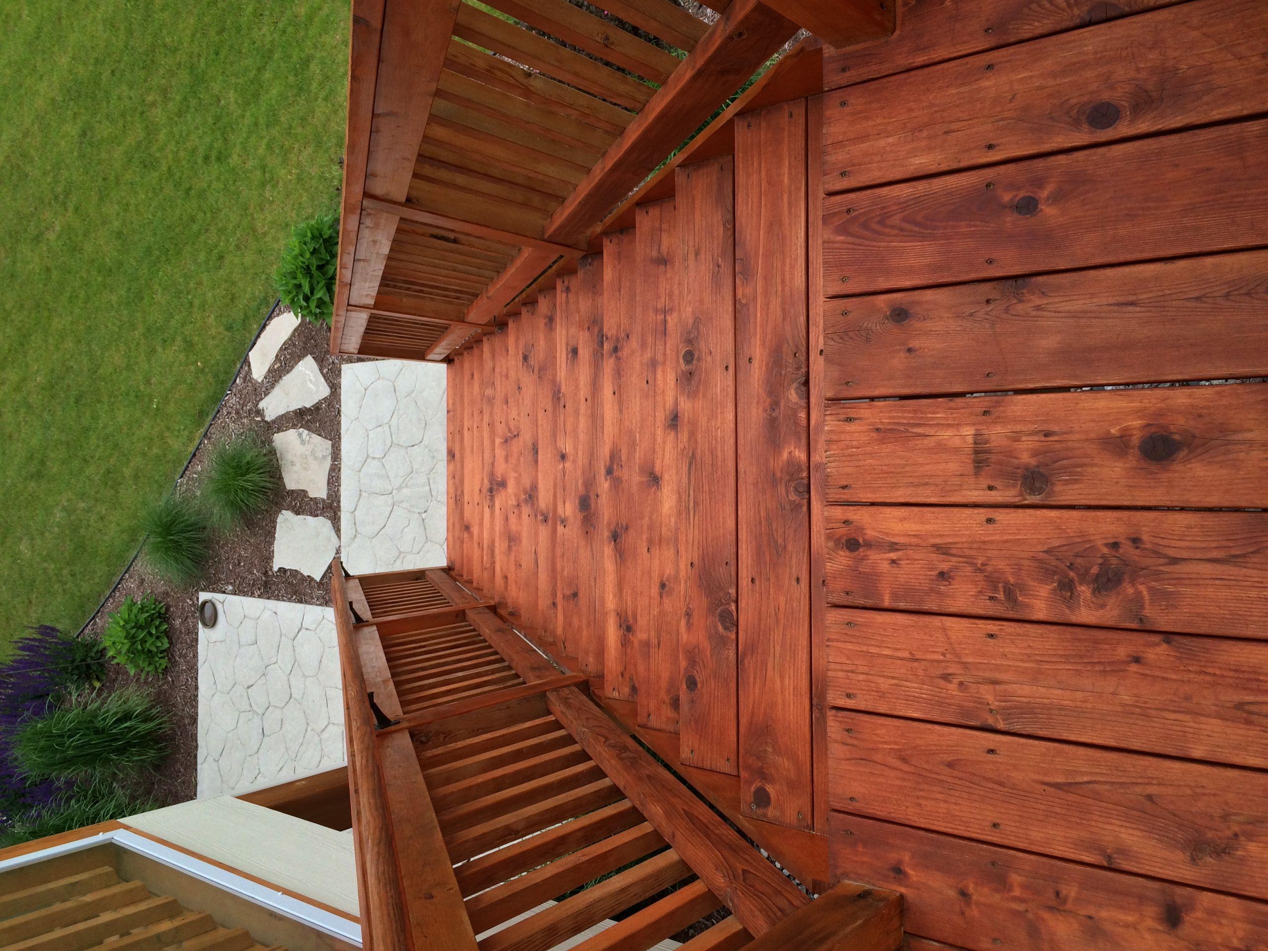 Wood Deck Paint Reviews  Armstrong Semi Transparent Redwood Feedback – Wood Deck