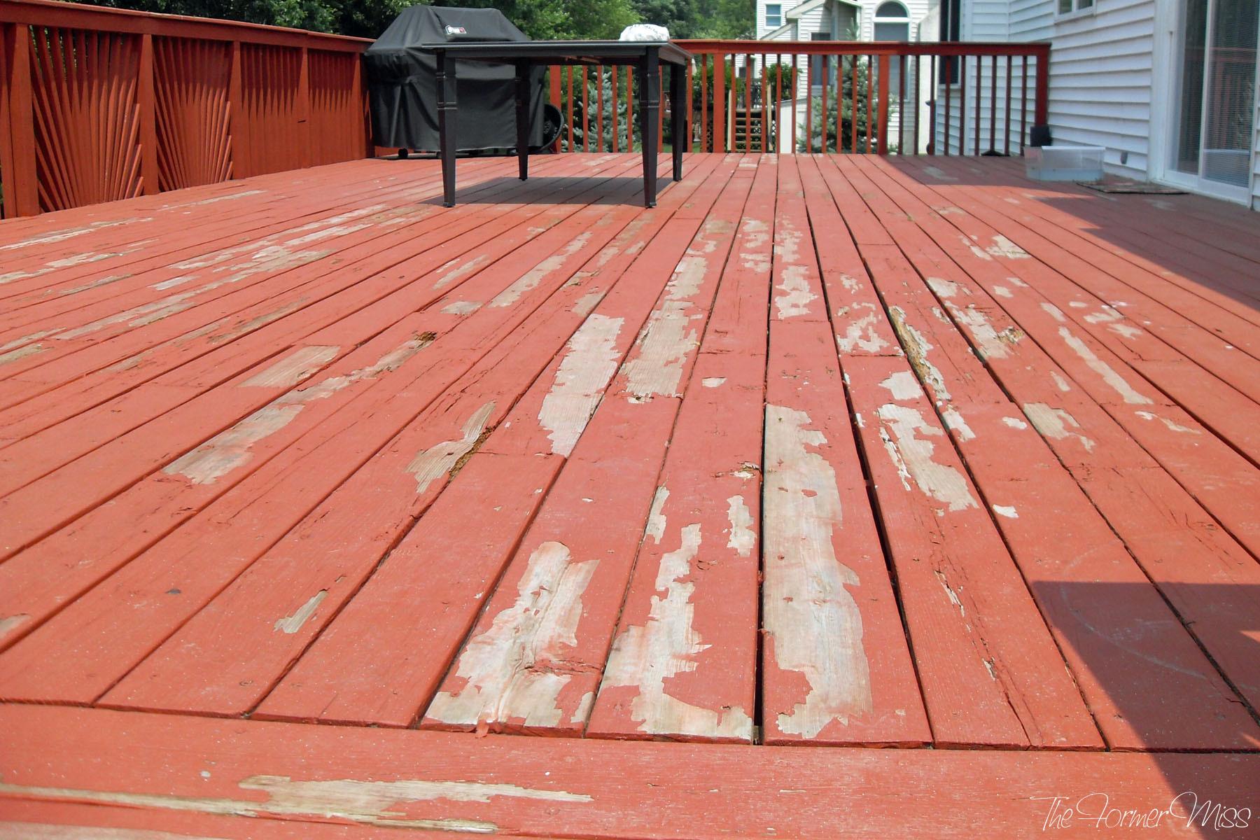 Deck Stain Paint  Best Exterior Deck Paint