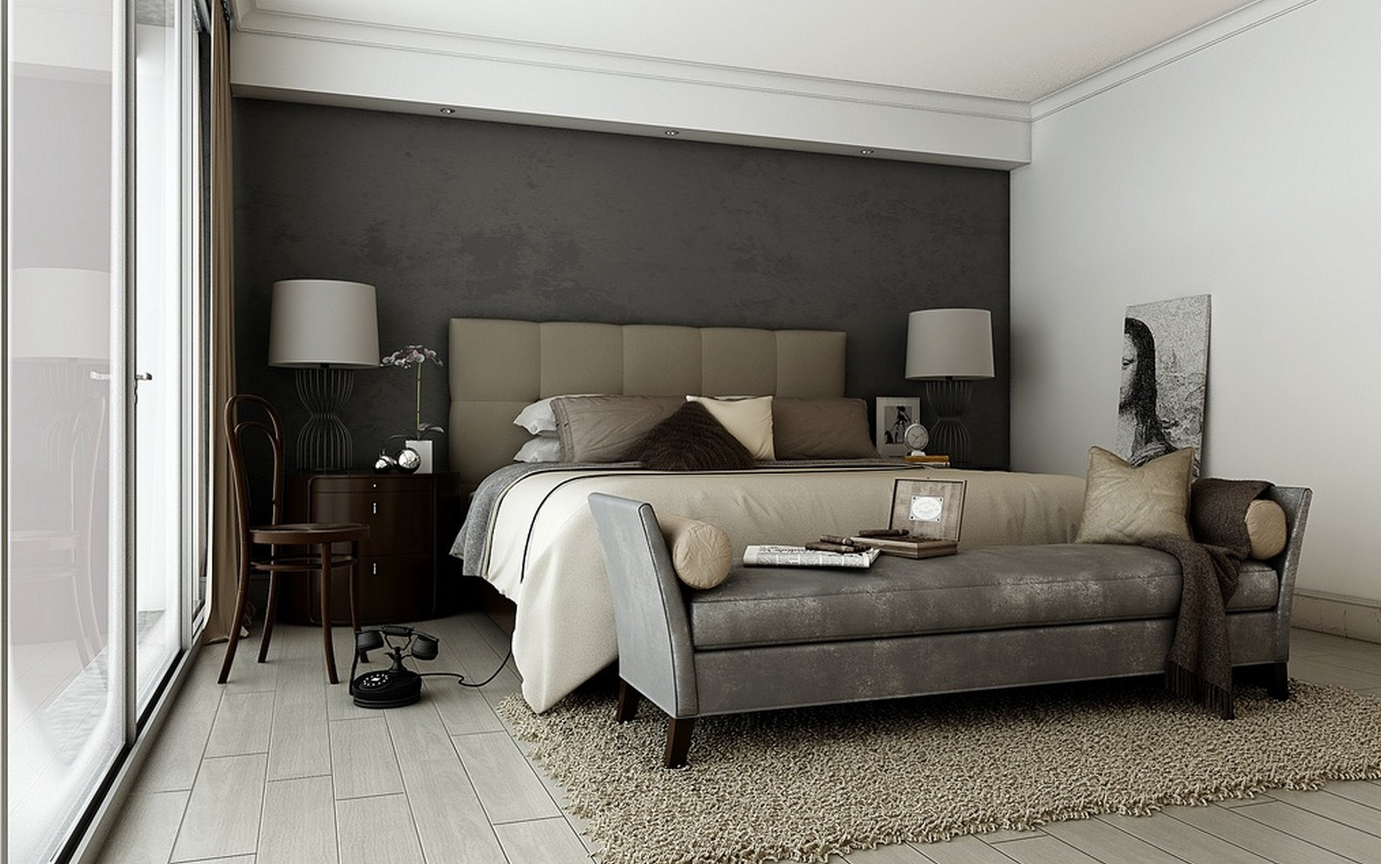 Gray Paint For Bedroom  Gray Paint Colors for Bedrooms – HomesFeed
