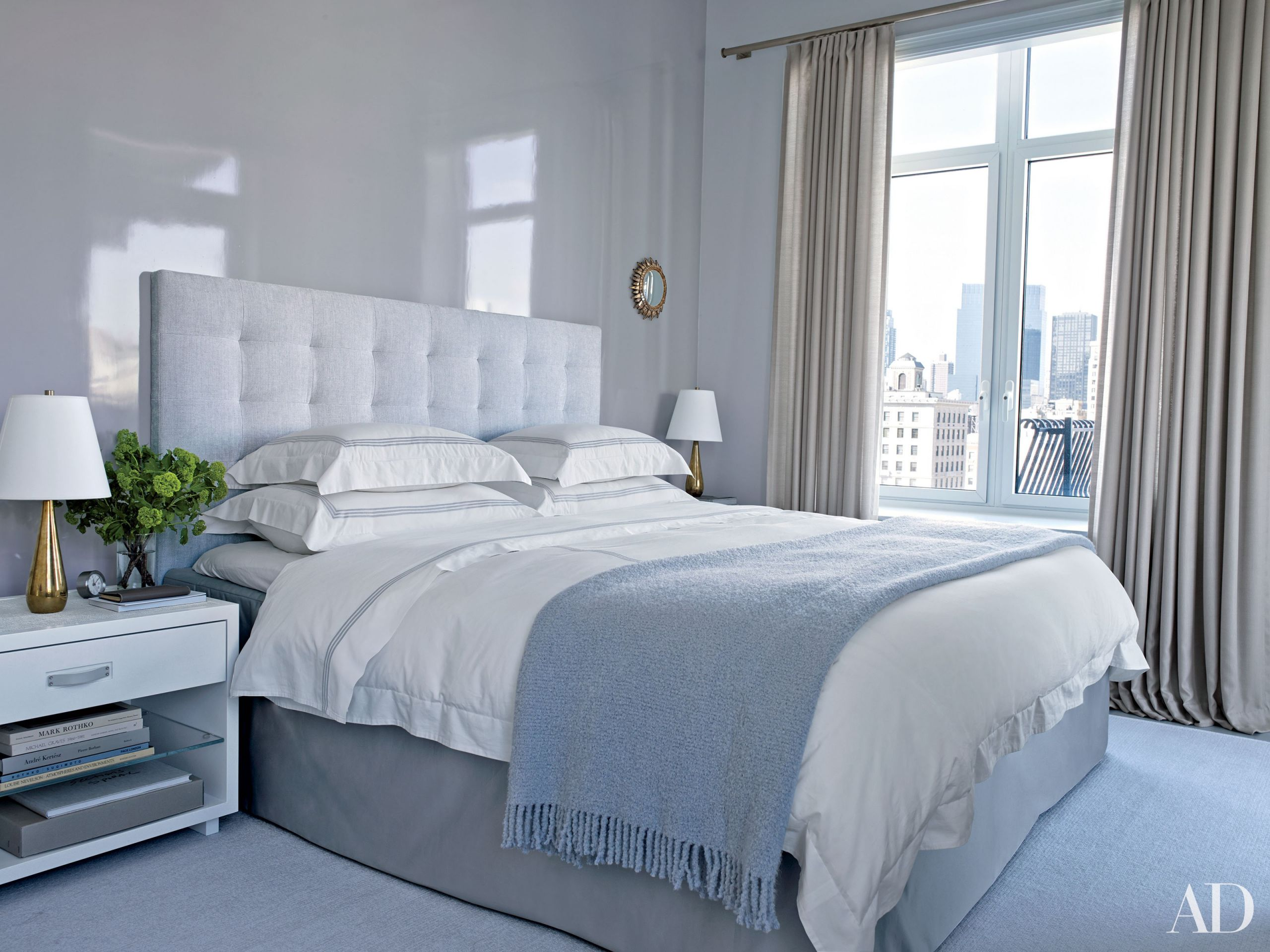 Gray Paint For Bedroom  Gray Bedroom & Living Room Paint Color Ideas s