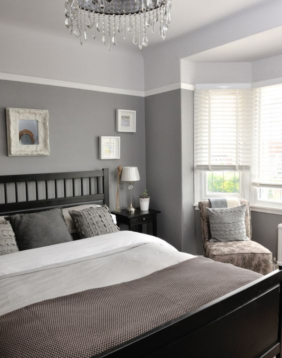 Gray Paint For Bedroom  40 Gray Bedroom Ideas Decoholic