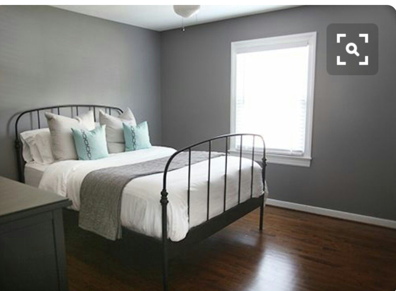 Gray Paint For Bedroom  Anonymous by Behr