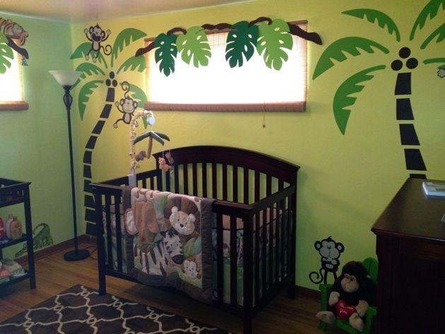 Jungle Baby Room Decor  Jungle Baby Nursery Design Ideas