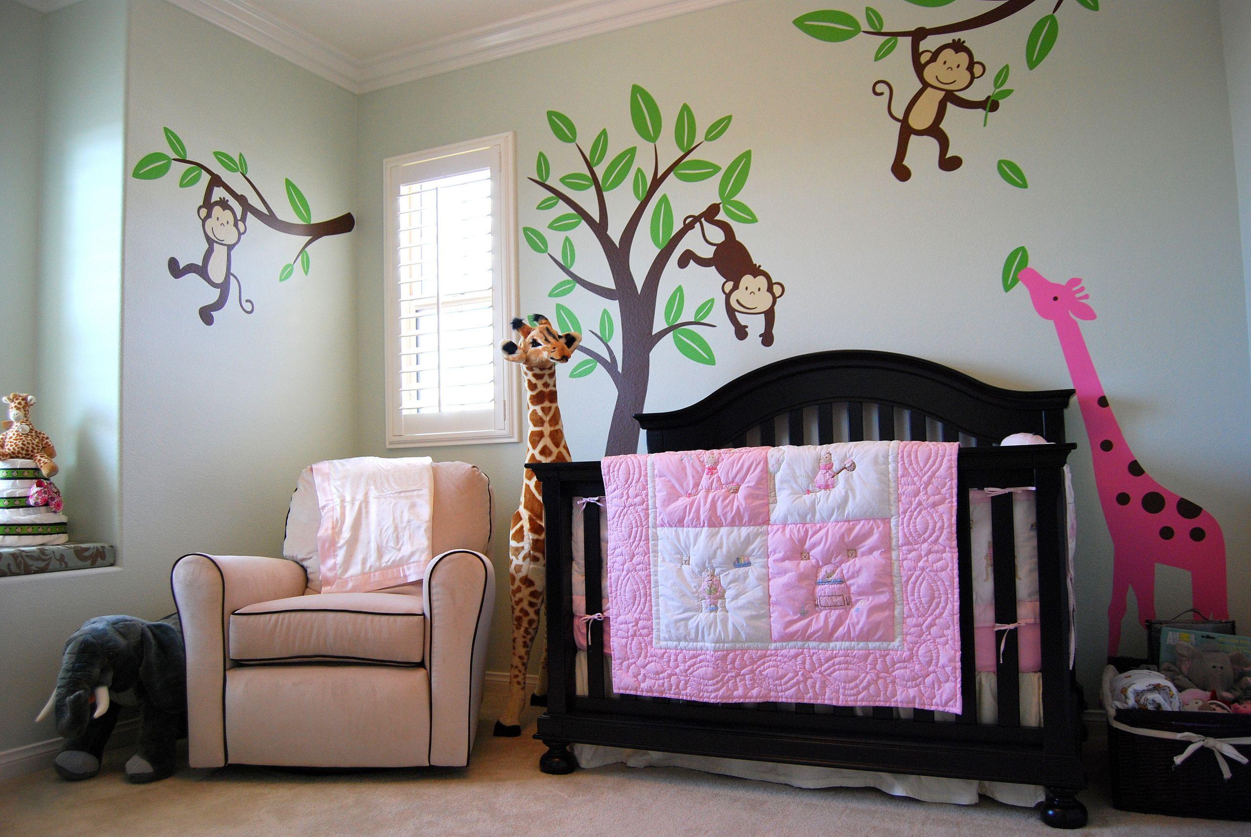 Jungle Baby Room Decor  Baby M s Jungle Themed Nursery Project Nursery