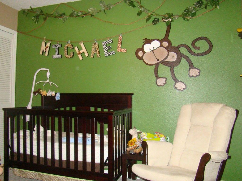 Jungle Baby Room Decor  Monkey Nursery Decor TheNurseries