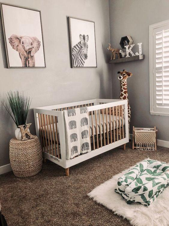 Jungle Baby Room Decor  The 10 Best Jungle Safari Themed Nurseries