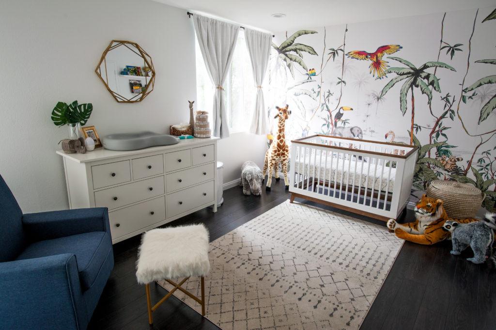 Jungle Baby Room Decor  A Colorful Jungle Safari Nursery Project Nursery