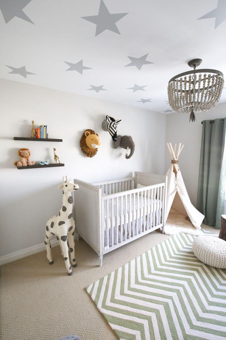 Jungle Baby Room Decor  A Safari Themed Baby Boy Nursery