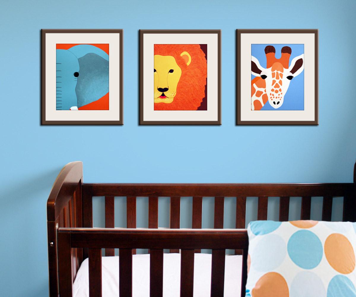 Jungle Baby Room Decor  Jungle nursery decor Baby nursery art prints Safari theme
