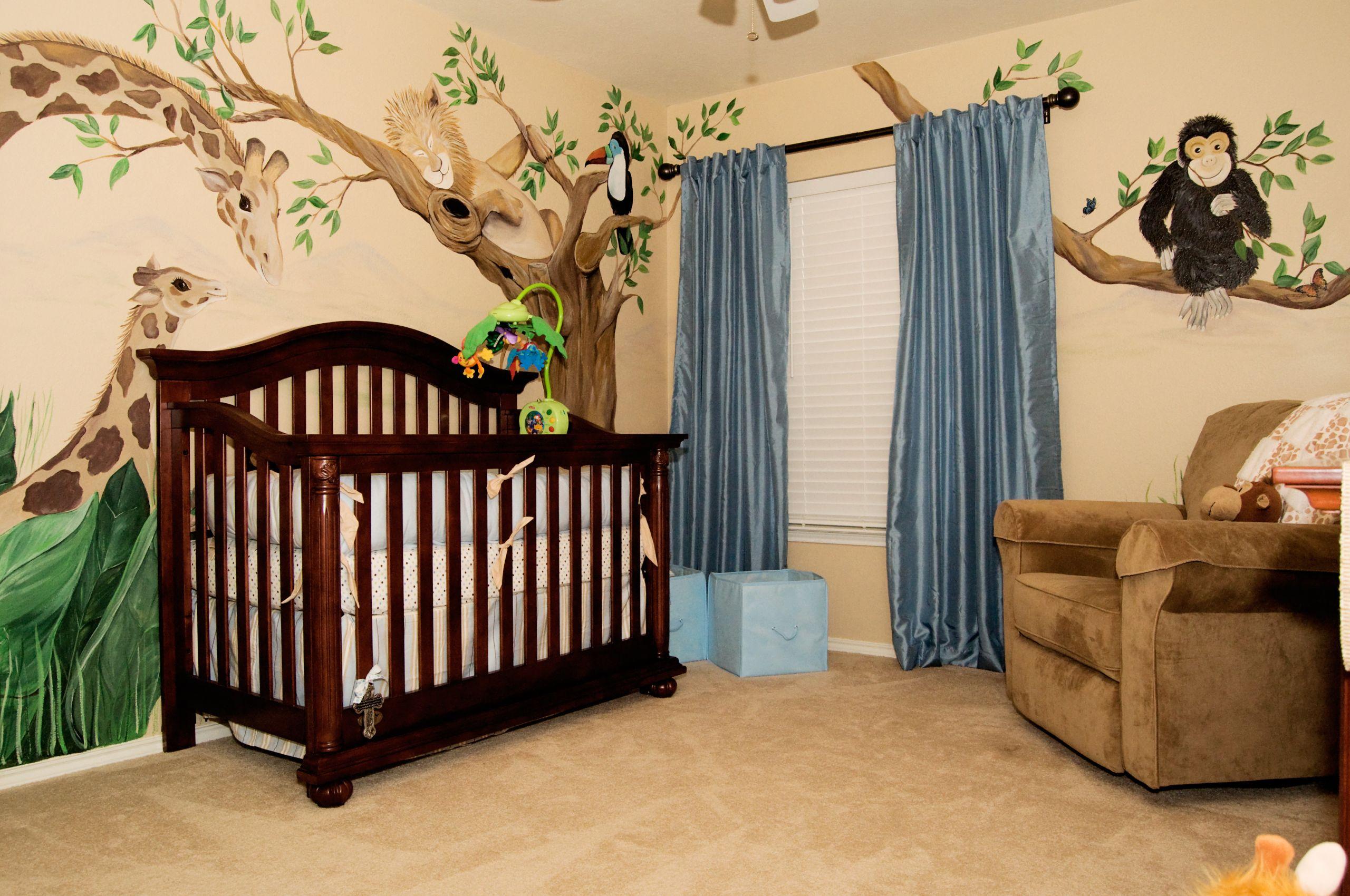 Jungle Baby Room Decor  Adorable Baby Room Décor Ideas