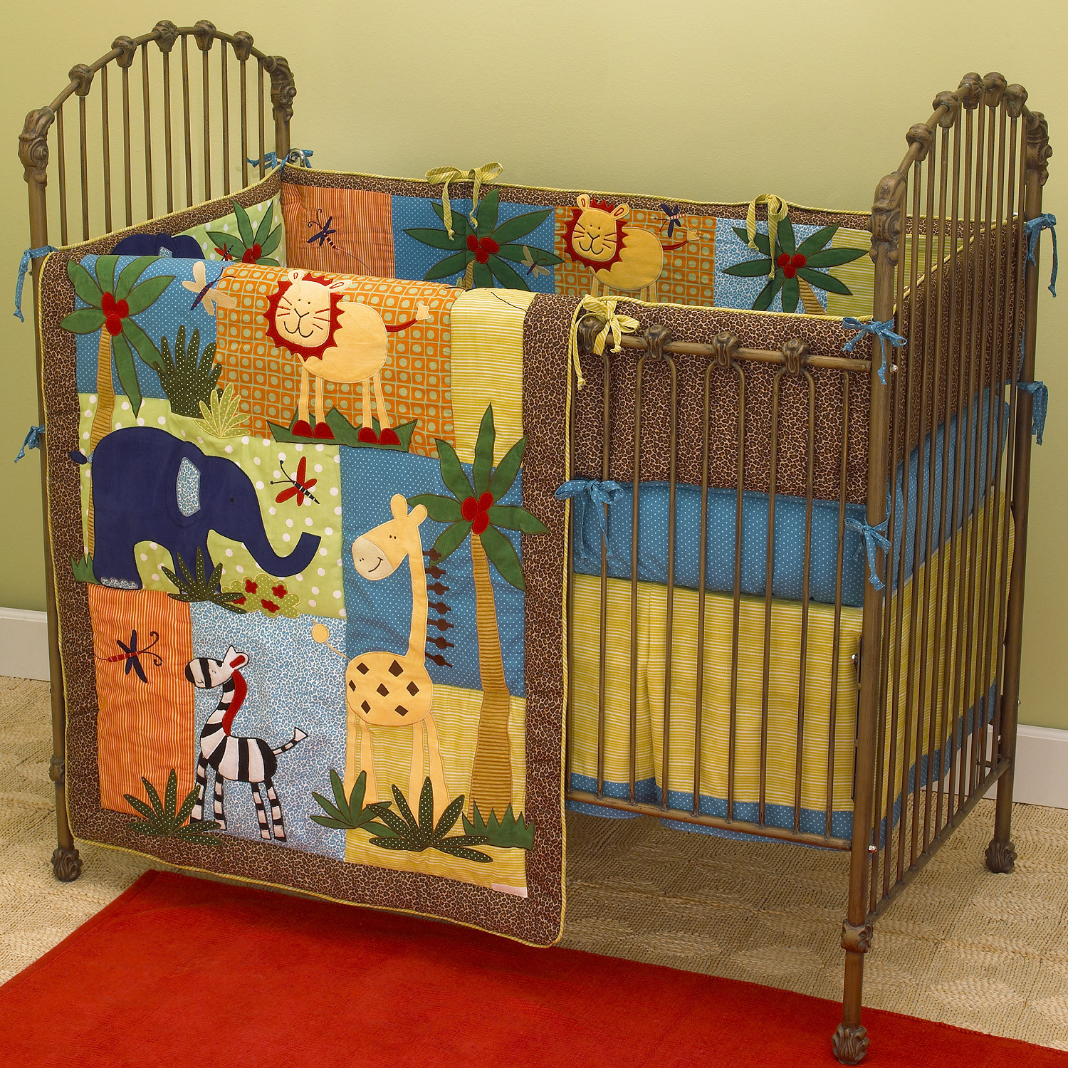 Jungle Baby Room Decor  Baby Room Decorating Ideas for Boys and Girls Sharing A