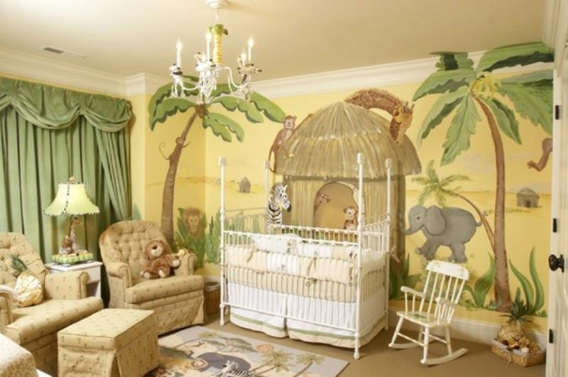 Jungle Baby Room Decor  15 Ideas To Design A Jungle Themed Kids Room