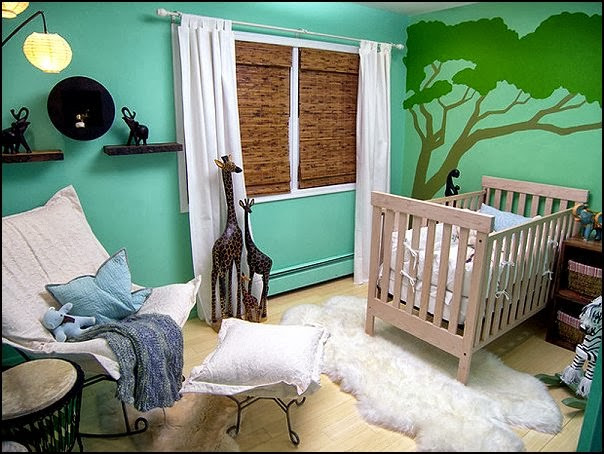 Jungle Baby Room Decor  Decorating theme bedrooms Maries Manor jungle baby