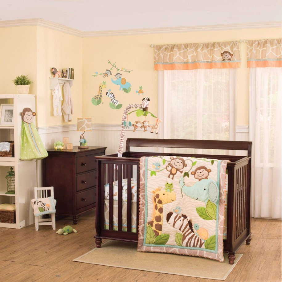 Jungle Baby Room Decor  Excellent Solid Maple Wood Baby Room Flooring Design Ideas