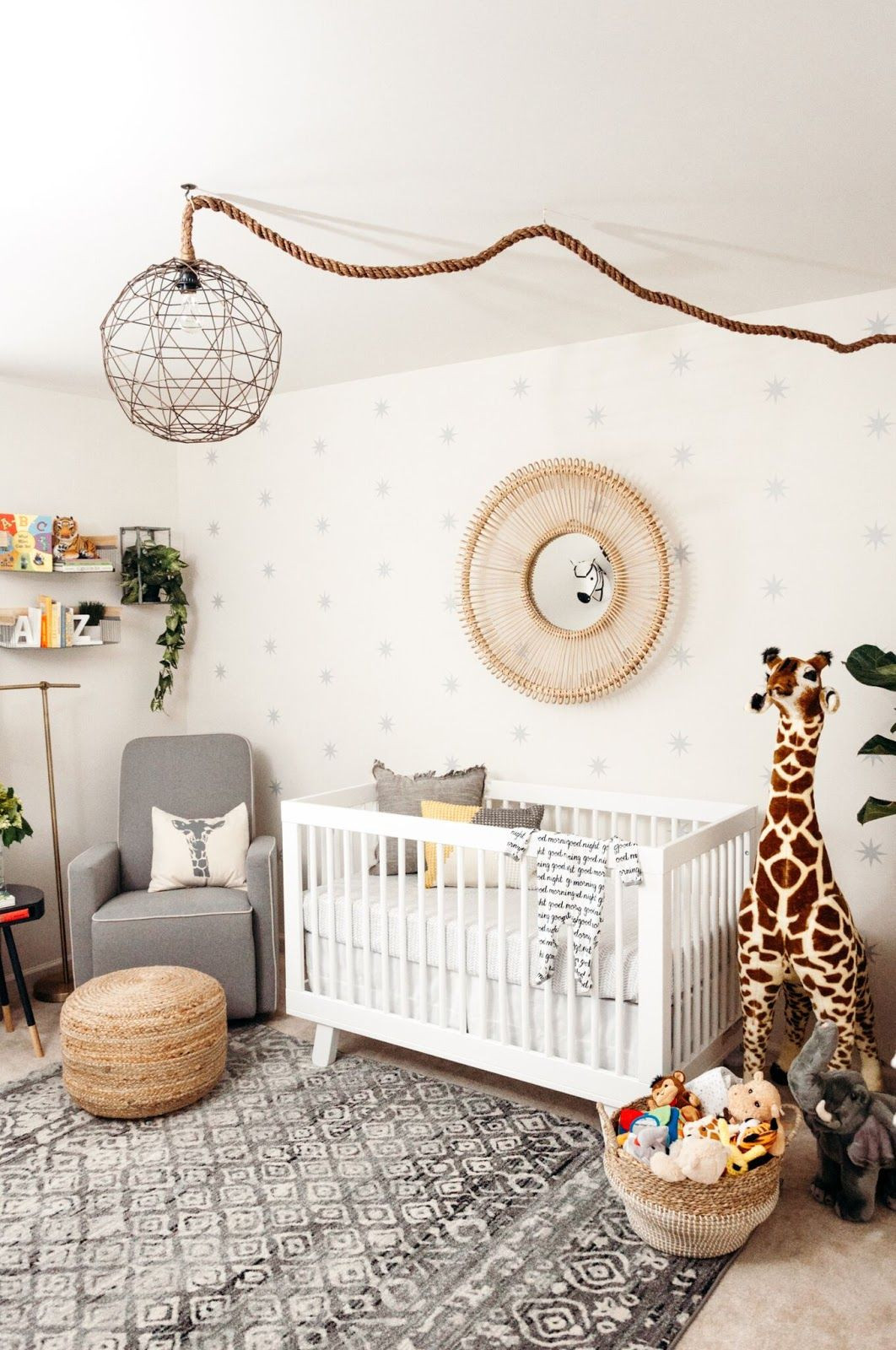 Jungle Baby Room Decor  Miles Nursery