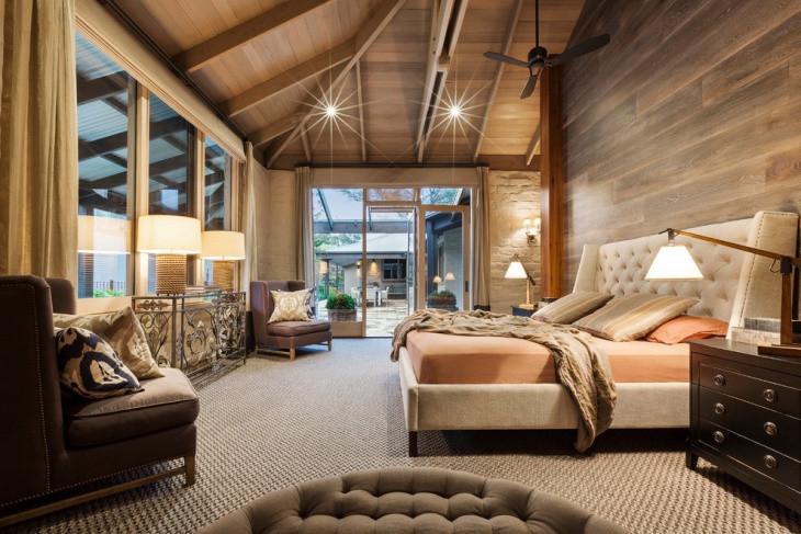 Rustic Contemporary Bedroom  21 Bedroom Furniture Designs Decorating Ideas