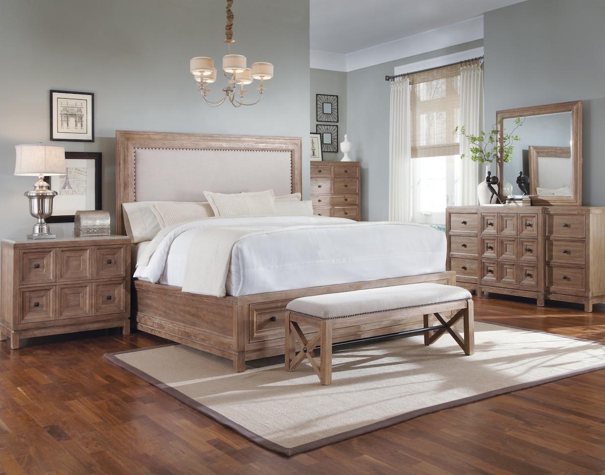 Rustic Contemporary Bedroom  Ventura Rustic Contemporary Bedroom Furniture Set