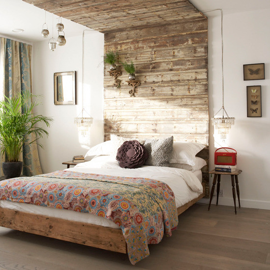 Rustic Contemporary Bedroom  refresheddesigns the new modern rustic