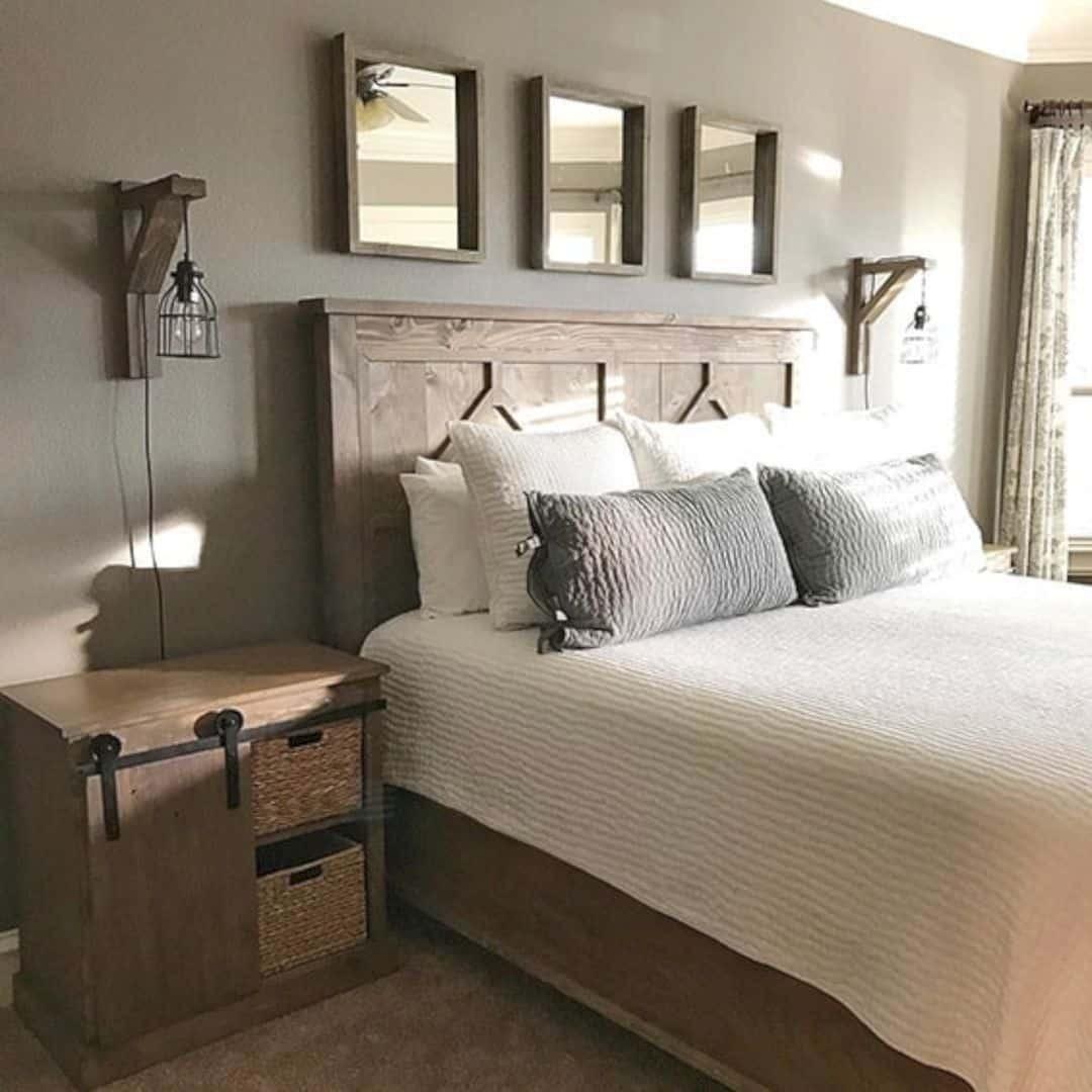 Rustic Contemporary Bedroom  16 Classy Rustic Bedroom Designs