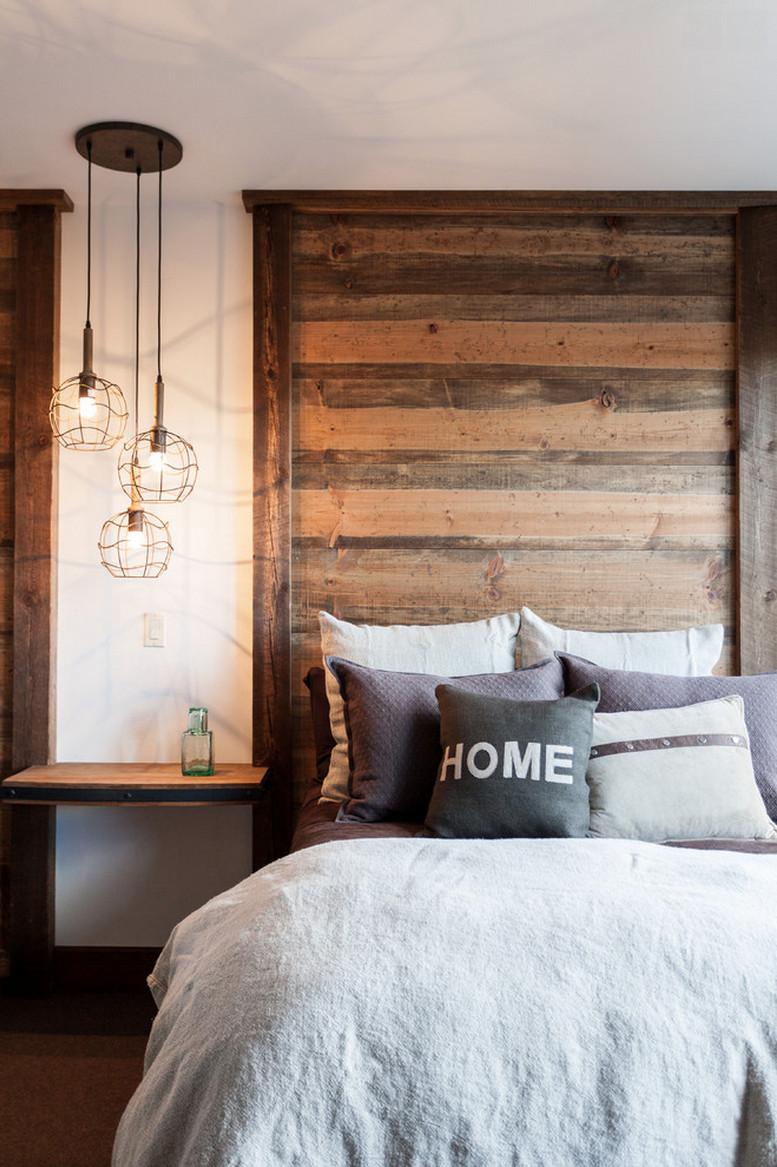 Rustic Contemporary Bedroom  Modern Rustic Bedroom Retreats