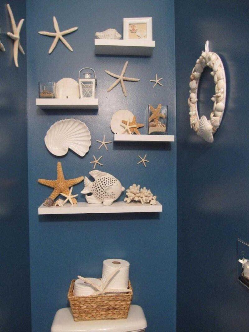 Seashell Bathroom Decor Ideas Lovely Seashell Bathroom Decor to Bring the Beach Home Interior
