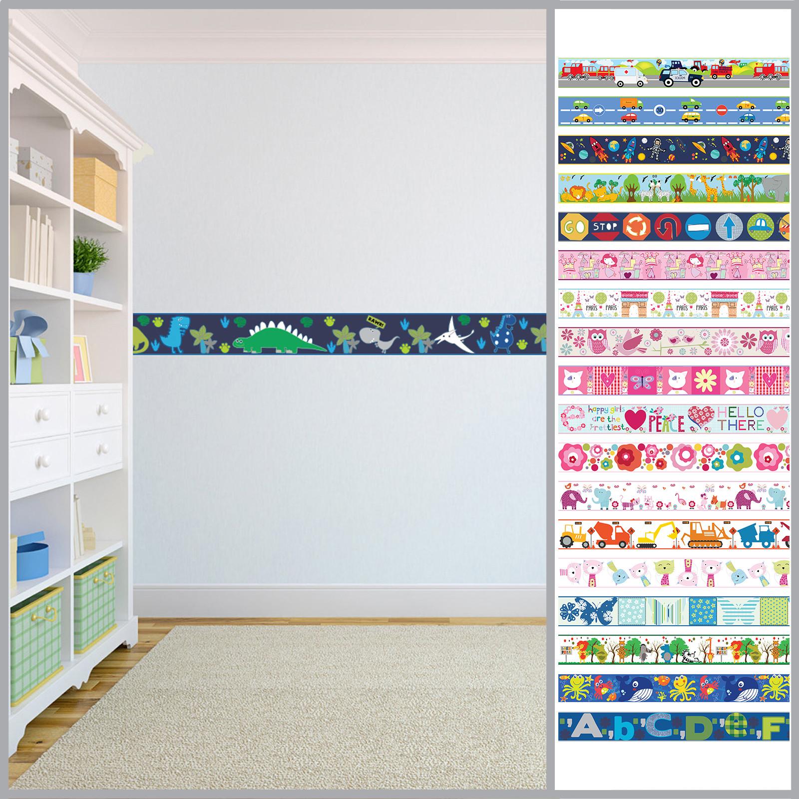 Wallpaper Borders for Kids Room Fresh Wallpaper Borders Children S Kids Nursery Boys Girls